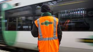 Southern rail strike enters second day in dispute over conductors