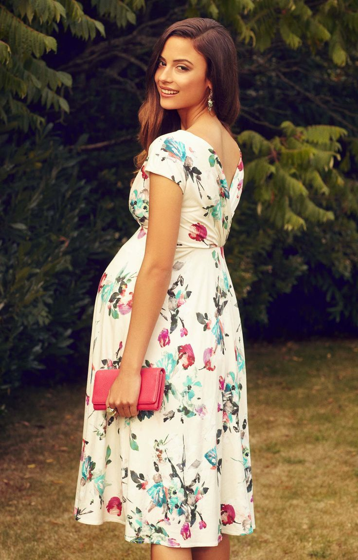 Our Best Selling Alessandra Dress Is Now Available In A Beautiful New Painterly Maternity Dresses Summer Pregnant Wedding Dress Maternity Wedding Outfits [ 1150 x 736 Pixel ]