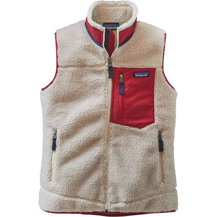 Patagonia - Classic Retro-X Fleece Vest - Women's - Natural Size Medium