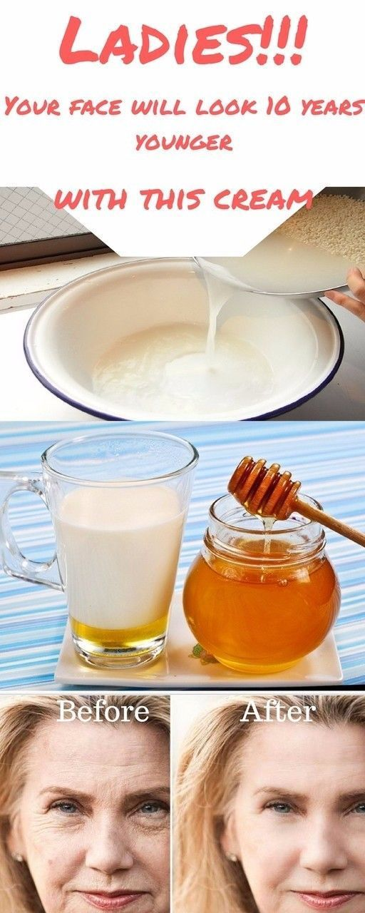 Honey cream to help you look younger