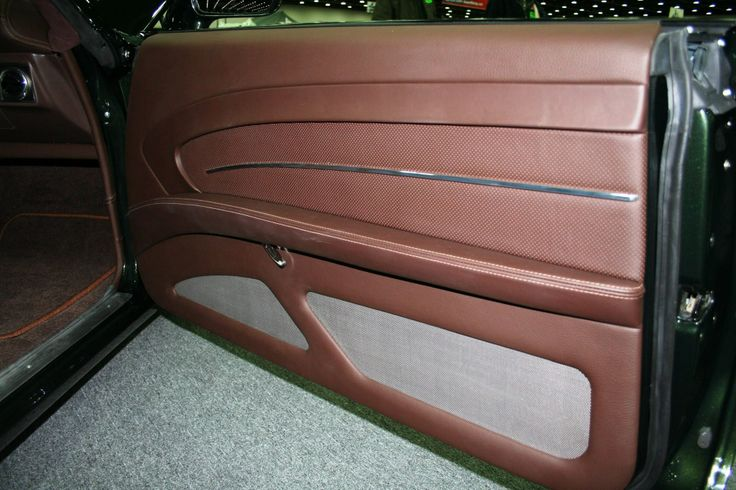 Smitty 39 S Custom Automotive Chevelle Green With Brown Interior Custom Door Panels Panel 1967