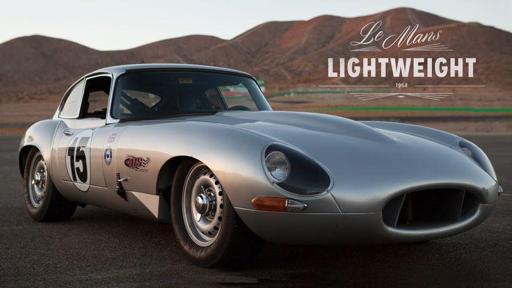 #Jaguar E-Type Lightweight Recreated