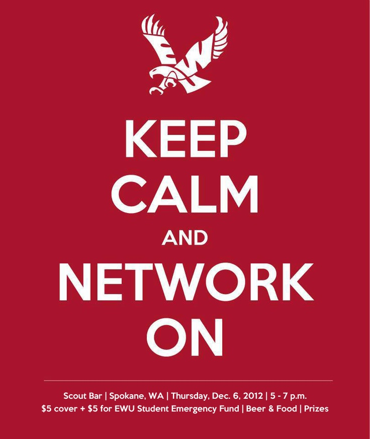 Join the EWU Young Professionals Network Facebook Group: http://www.facebook.com/groups/224502337683385/