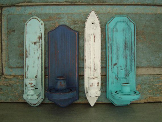 Wall Candle Holder Sconces Seaside Shore Collection $36