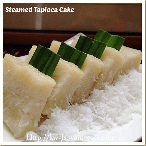 Steamed Tapioca Layered Cake Recipe