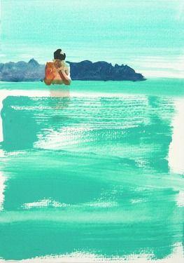 "Saatchi Art Artist Grażyna Smalej; Painting, ""Eyes"" #art"