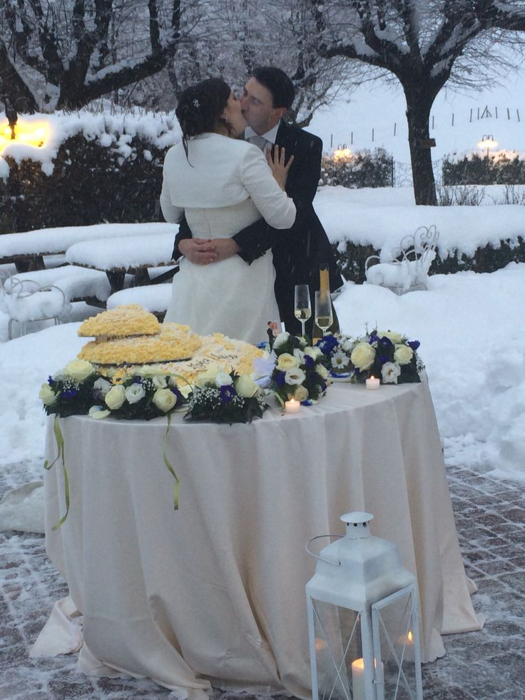 Nozze sotto la neve