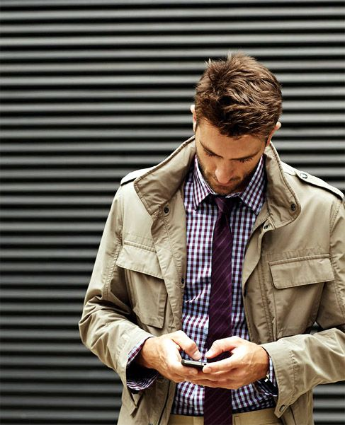 even without tie this is fab!  I envision it with a black or navy check and your gray jacket...