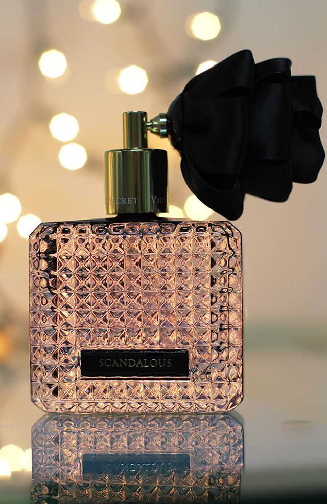 victoria's secret scandalous perfume my favorite ;)