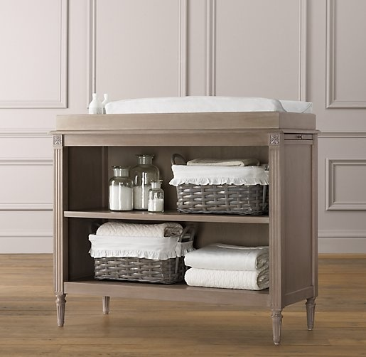 Web Image Gallery Emelia Changing Table Changing Tables Restoration Hardware Baby u Child