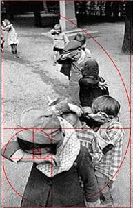 The Golden Ratio in a photo by Henri Cartier Bresson