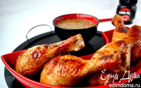 Маринованные в мисо куриные ножки на гриле. | Кулинарные рецепты от «Едим дома!»