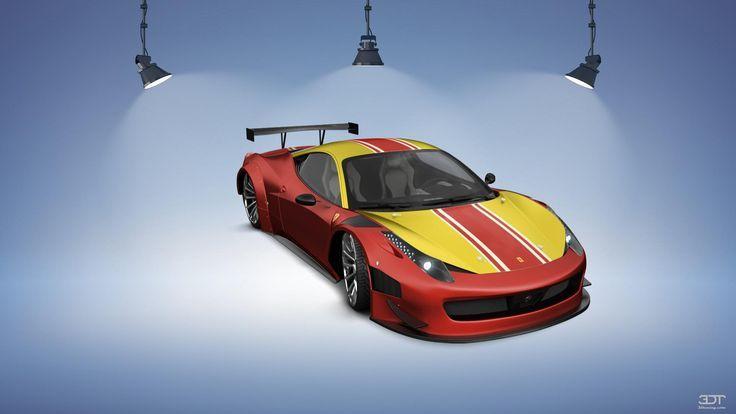 Ferrari 458 Body Kit Ferrari Ferrari 458 Body Kit Kit