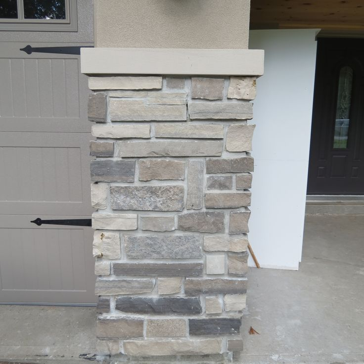 The 25 best stone veneer ideas on pinterest faux stone for How to install stone veneer over stucco