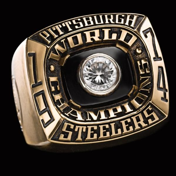 Super Bowl IX Championship Ring - Pittsburgh Steelers