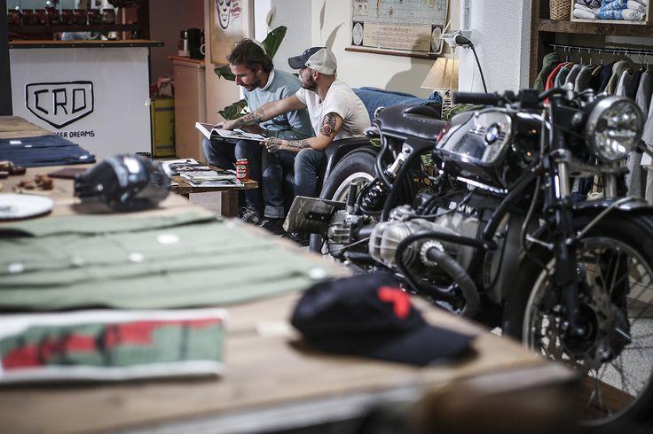 Cafe Racer Dreams y la #CRD61 en Fuel