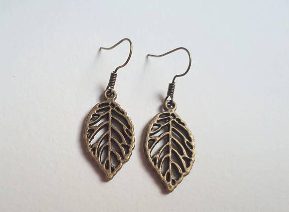 Check out this item in my Etsy shop https://www.etsy.com/ca/listing/185591109/leaf-earrings-bronze-leaf-dangle