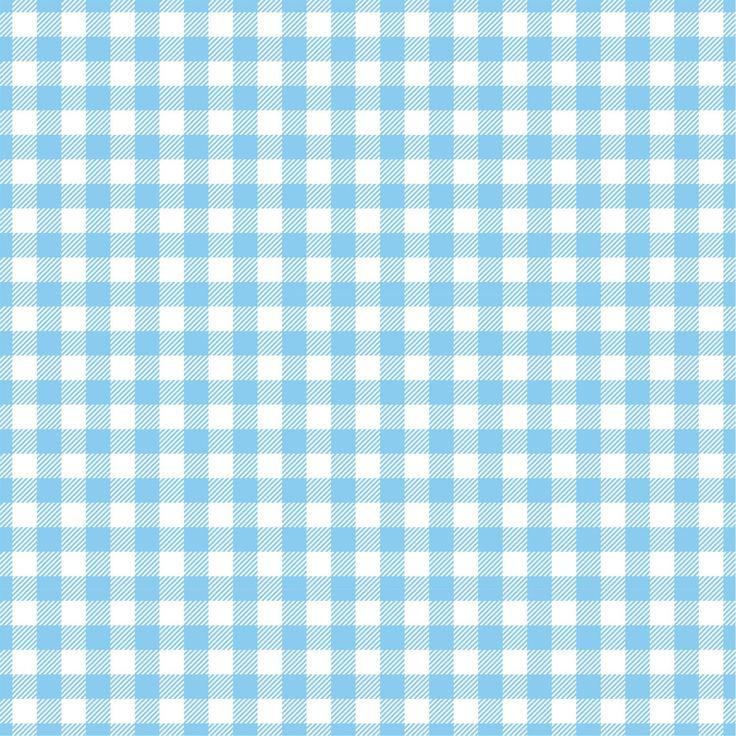 Light blue Gingham craft vinyl sheet HTV Adhesive