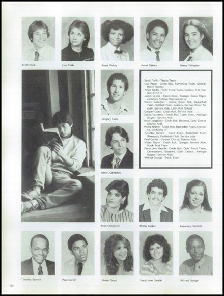 1983 Bayside High School Yearbook via Classmates.com
