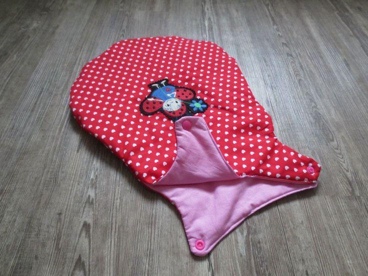 felinchens: Puppenschlafsack ohne Reißverschluss nach freebook von Hamburger Liebe