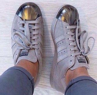 Adidas Superstar Metal Toe Grise