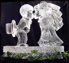 wedding ice sculpture timelestresuretheaspenshops