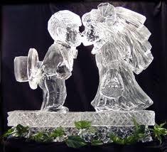wedding ice sculpture timelestresuretheaspenshops