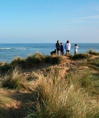 Holkham Beach walk, Norfolk.