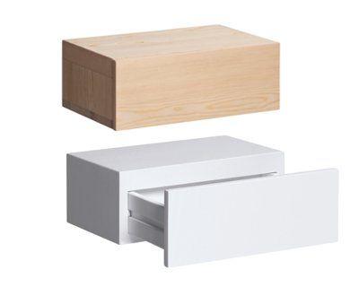 Chevet tiroir vesper d 39 am pm tables de nuit pinterest for Table de chevet d angle