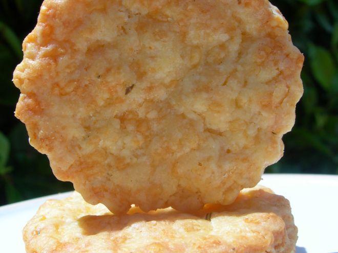 Recette Apéritif : Sablés apéritifs ail et fines herbes ou comment manger du boursin en biscuits !!! par Sabs