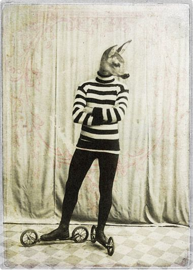 """The Rollerskater"" ~ Katrine Kalleklev"