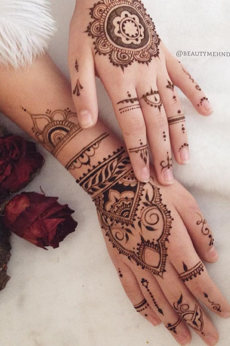 32 Free Henna Tattoo Design You Can Do Best Henna Drawings At Home New 2019 Eeasyknitting Com In 2020 Henna Tattoo Designs Henna Drawings Henna Designs Hand