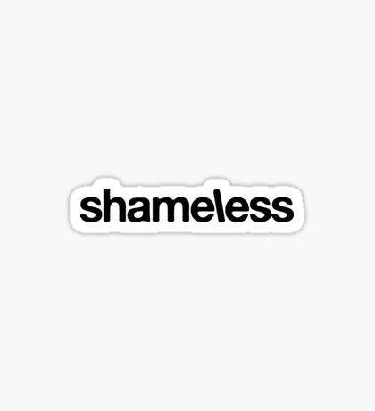 Shameless-Showtime Tv Show Logo Sticker