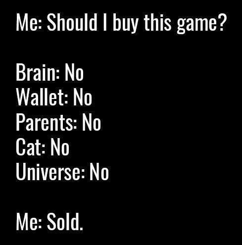 Steam holiday sale in a nutshell - 9GAG