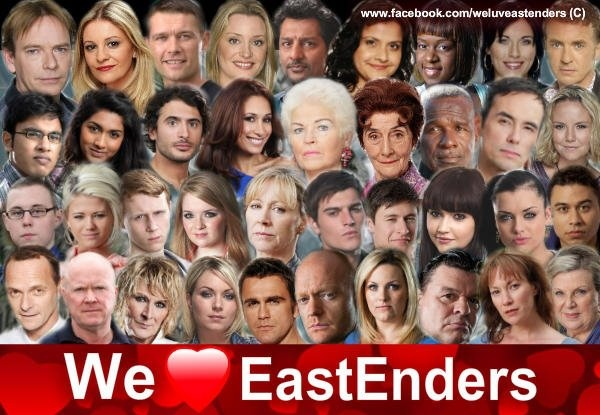Eastenders.....love me some British soap opera drama! Oi sling er hook!