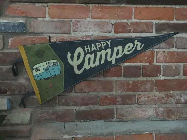 A modern twist on a traditional favorite, these vintage style pennants are completely hand made in Pontiac, Michigan. Hang on a wall in your home, cabin, dorm, RV or anywhere close to your heart. Happ