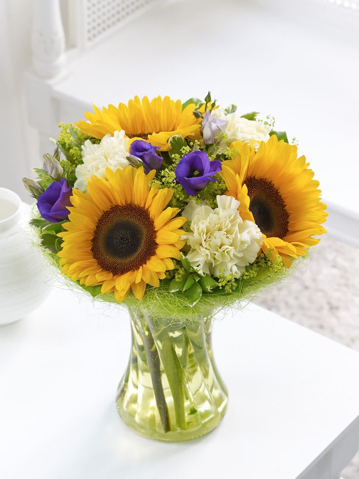Sunflower perfect gift interflora флористика