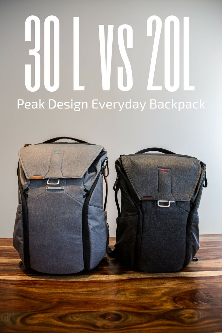 Not sure which Peak Design Everyday Backpack size to get as a photographer or traveller? Watch this walkthrough of the 30L and how it compares to the 20L.