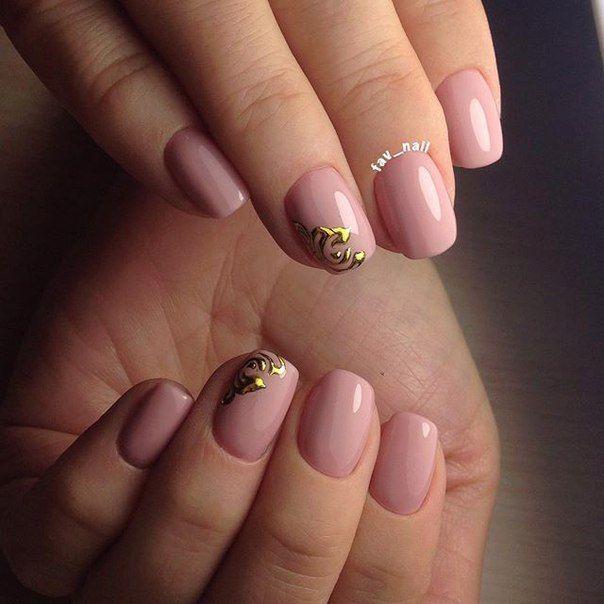 Узоры на ногтях из блесток фото 157