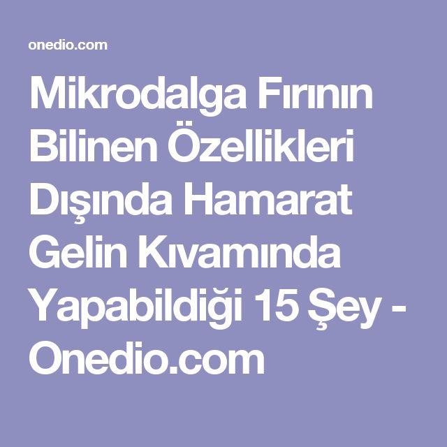 Mikrodalga Fırının Bilinen Özellikleri Dışında Hamarat Gelin Kıvamında Yapabildiği 15 Şey - Onedio.com