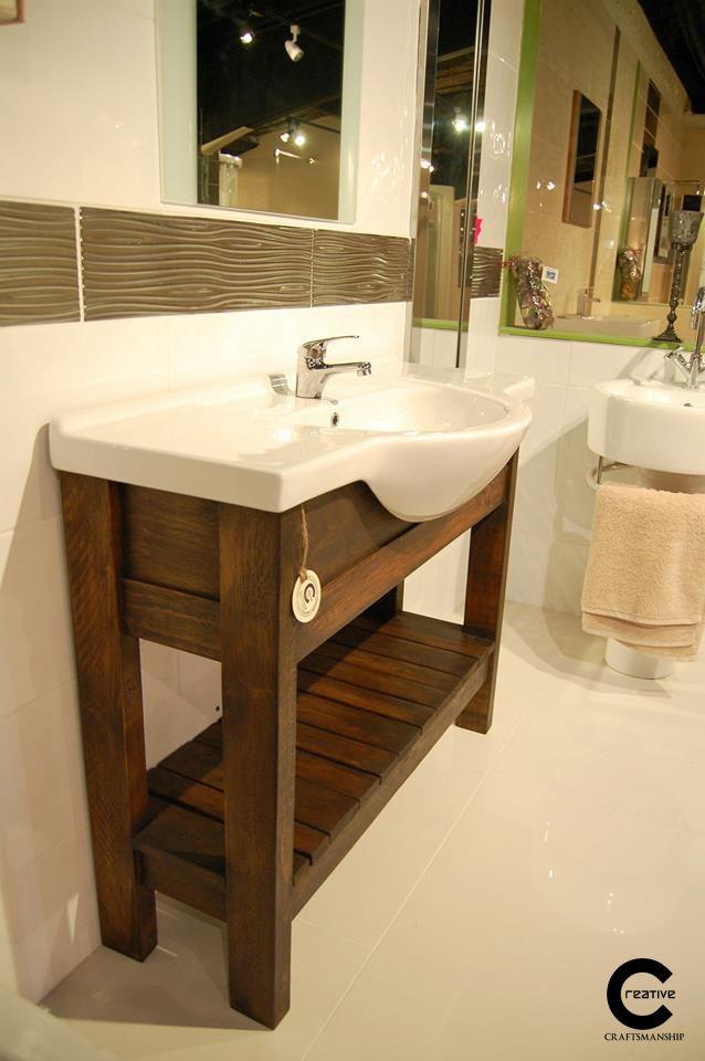 Pallet Wood Vanity Unit Furniture Pinterest Vanity