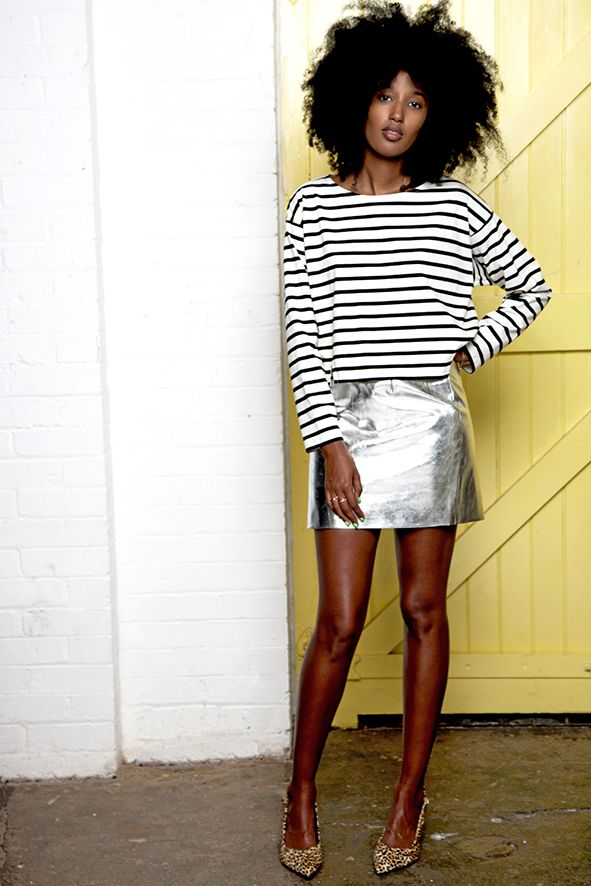 International Street-Style Icon: Julia Sarr-Jamois