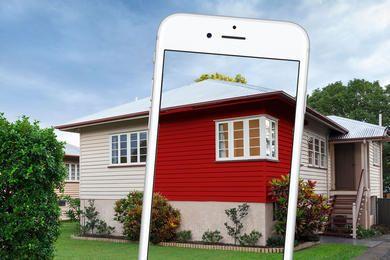 App maler dit hus rødt på et sekund