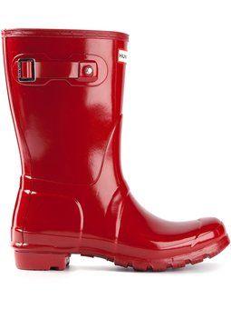 'Original Short Gloss Wellington' boots