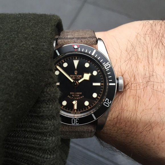 HODINKEE watch I wore most in 2015, Tudor Heritage Black Bay Black