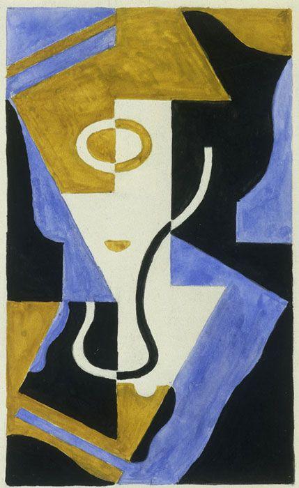 Le Verre à Pied (1919) Juan Gris