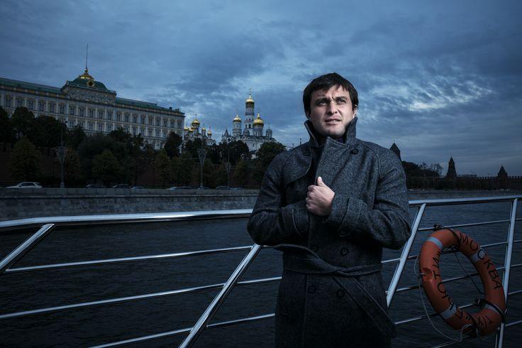 Moscow. River. Kremlin. Alan Kasaev. Football player. Lokomotiv