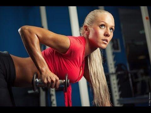 Тренировка для похудения для женщин в тренажерном зале