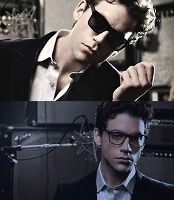 Mika modeling for Lozza Eyewear - 2012 advert