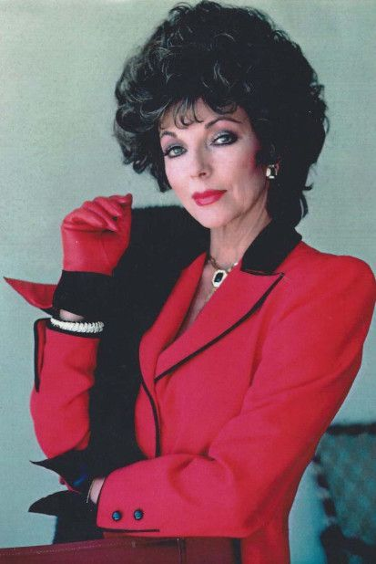 Best 80's Fashion Look : 80s | Joan collins, Dame joan collins, 80s ...